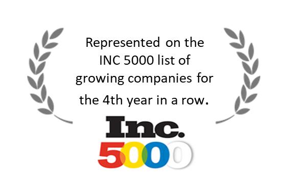 Inc 5000. Award